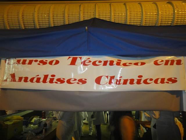 TURMA DO CURSO TÉCNICO EM  ANÁLISES CLÍNICAS