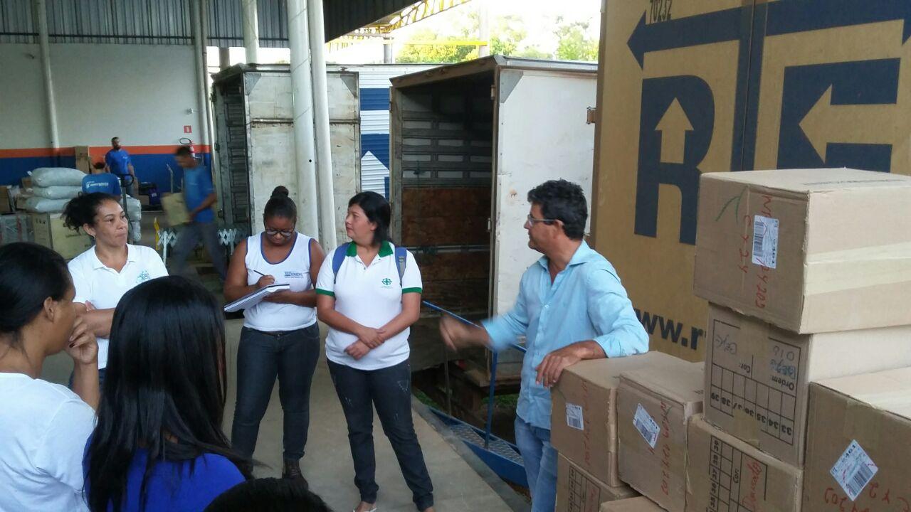 Visita técnica na empresa Rodonaves, contribuindo para a formação de qualidade dos técnicos em Segurança da Unitec