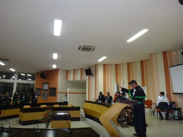 COLAÇÃO DE GRAU - UNIDADE DE VAZANTE