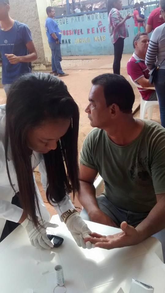 Coparticipação das aulas do Técnico em Enfermagem no projeto Caravana Cultura.
