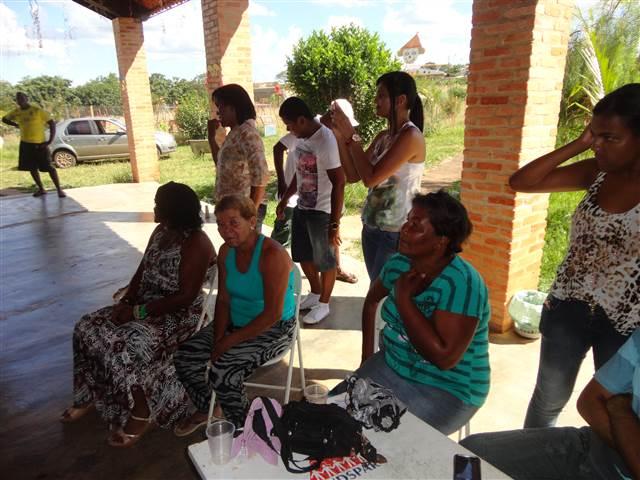 Os alunos do curso técnico de enfermagem participaram na elaboração do evento intitulado \