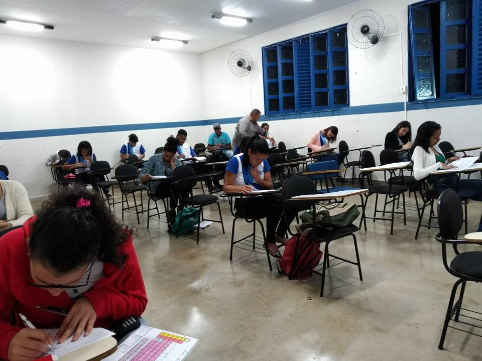 Semana de prova dos cursos técnicos, concentração total.