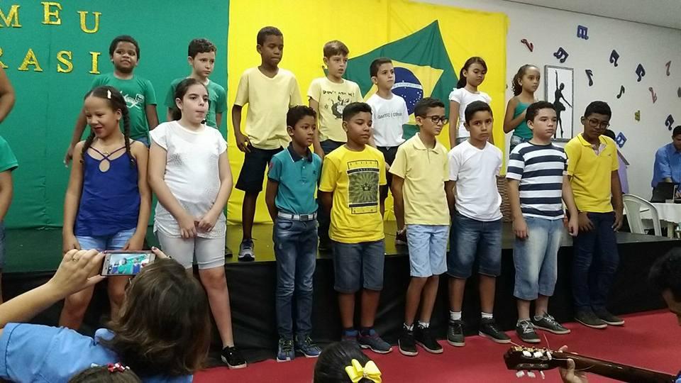 1° SARAU LITERÁRIO, parabéns alunos e professores.