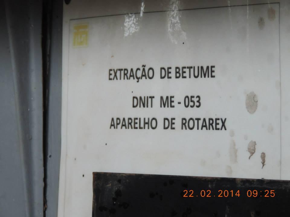 VISITA TÉCNICA NA USINA DE ASFALTO - TAMASA  EM UNAÍ-MG